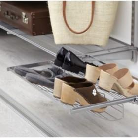 Висувна полиця для взуття без каблука, ширина 450 та 600мм