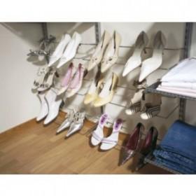 Полка для обуви одинарная, ширина 605мм