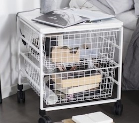 Кошики для використання в стеллажах  та в Decor, глибина 40см