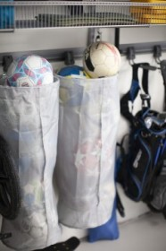 Сетчатый мешок для спортинвентаря